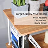Aingoo Modern Bookshelf 3 Tier Wooden Display