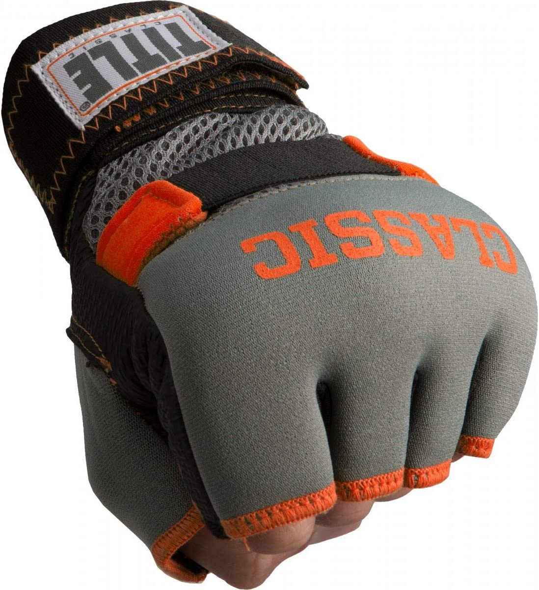 Red//Black Title Classic Gel-X Glove Wraps Large