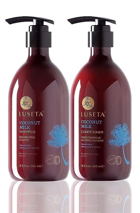 10 opinioni per Luseta Coconut Milk Shampoo & Conditioner Set 2x16.9oz by Luseta