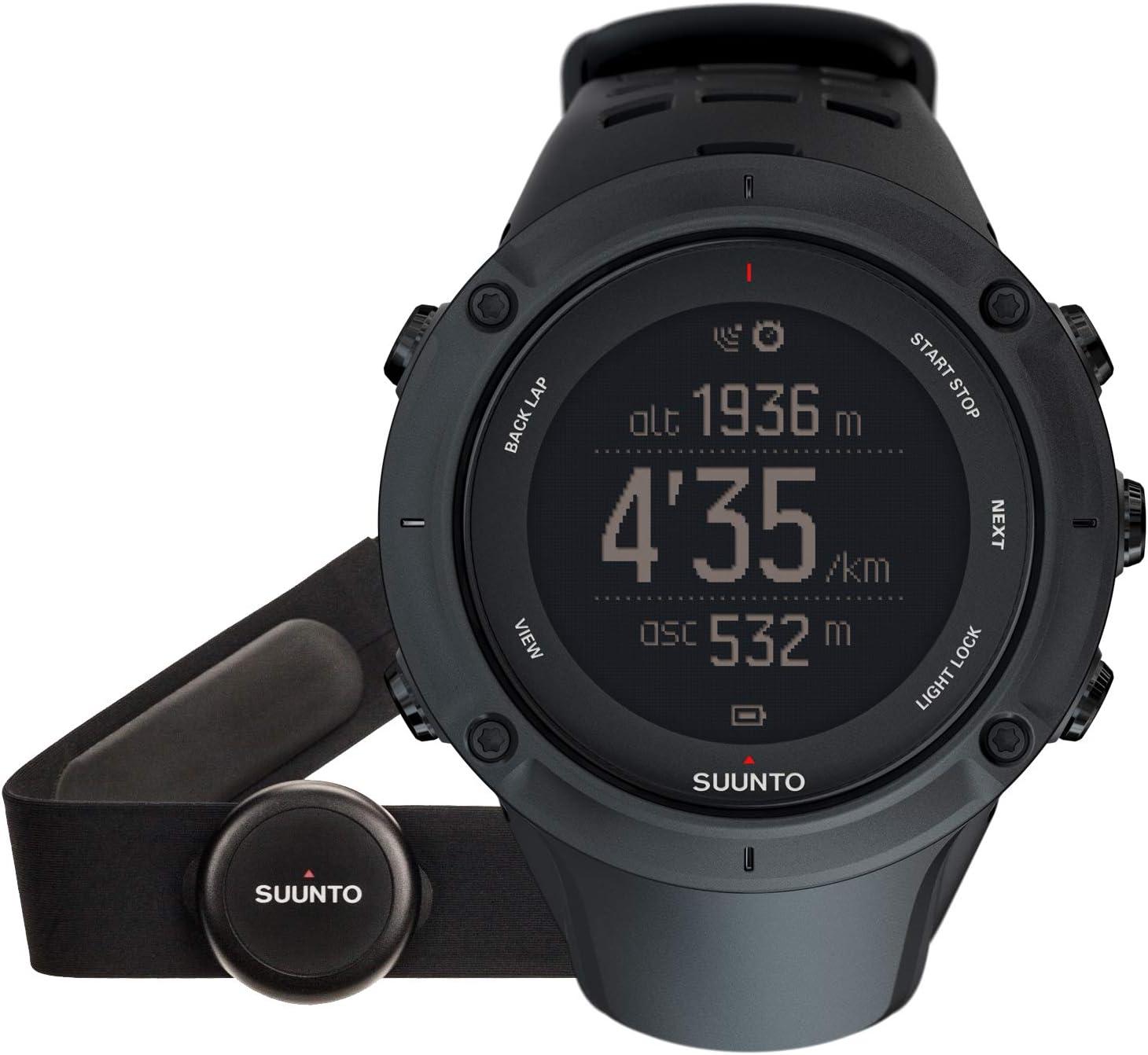 Suunto - Ambit3 Peak Black HR - Reloj GPS Negro