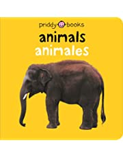 Animals: Animales (Bright Baby) (English and Spanish Edition)