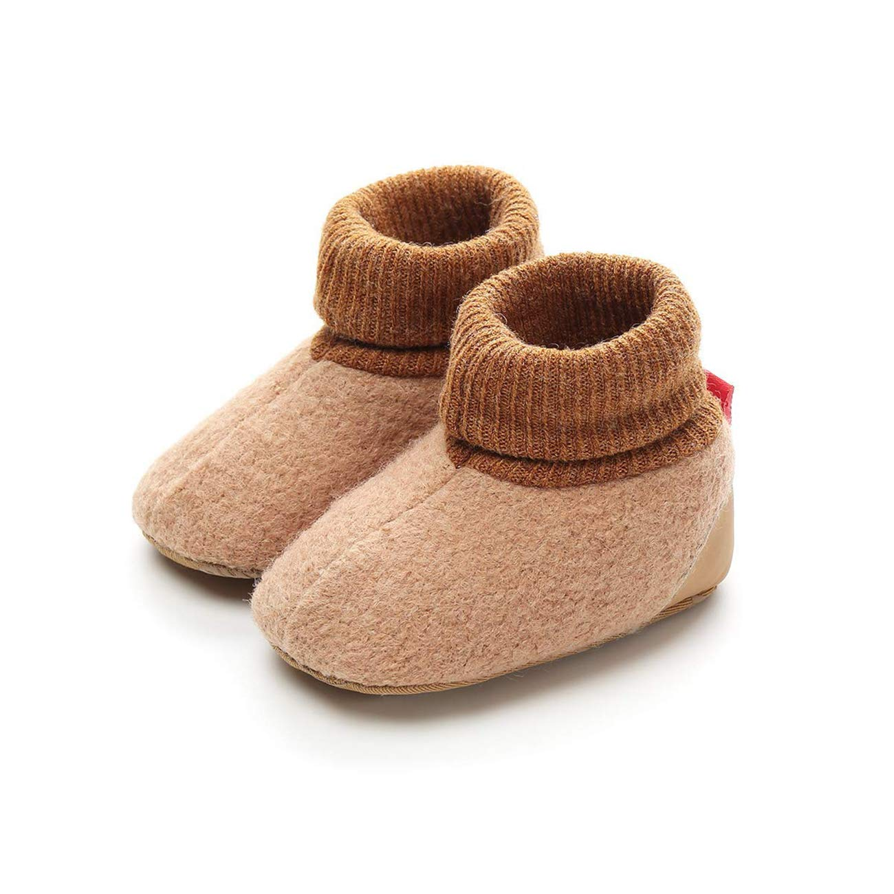 Matt Keely Baby Girl Bowknot Snow Boots Soft Sole Winter Warm Shoes Booties