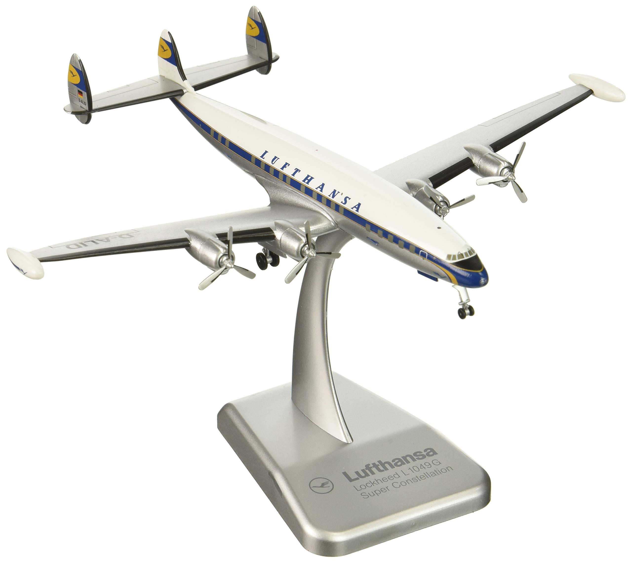 Daron Hogan Lufthansa L1049 Reg D-ALID Die-Cast Model Kit 1/200 Scale by Daron (Image #1)