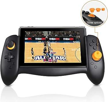 Linkstyle Mando Inalámbrico para Nintendo Switch, Controlador ergonómico para Modo portátil Compatible con Nintendo Switch, reemplazo Pad Pro Joy-con con Agarre Manual: Amazon.es: Electrónica