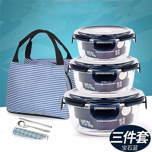 Vidrio resistente al calor del horno de microondas especial lunch ...