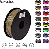Pxmalion PLA 3D Filament, Bronze Metal, 1.75mm, Accuracy +/- 0.03mm, Net Weight 1KG(2.2LB), Compatible with most 3D Printer & 3D Printing Pen
