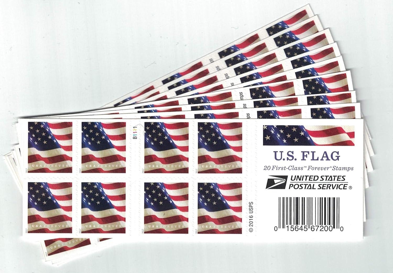 Usps U Flag Forever Stamps Booklet Of Version Toys Games Stamp Value Jpg 1500x1043 First