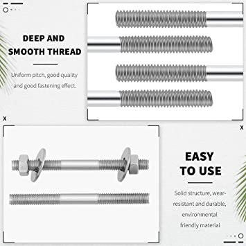 Miniature Aircraft X-Cell m3 x 75 Threaded Control Rod Pack of 2 MA 121-6