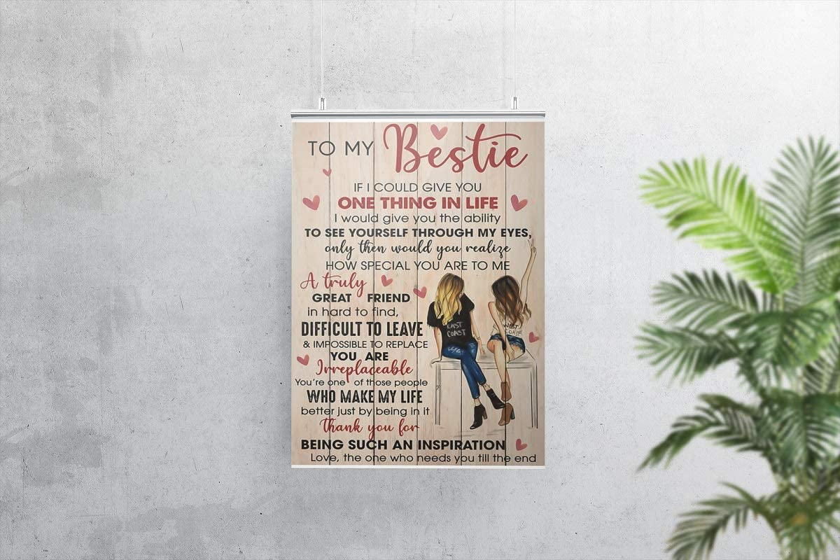 To my bestie - pretty girls poster