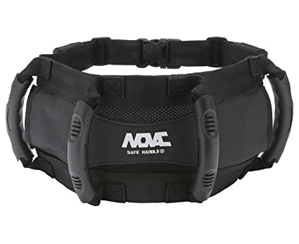NOVAC Passenger Safety Belt by Grip Grab Handle able to wear as a Kidney Belt for ATV Superbike JETSKI Motorcycle Motobike Bike Snowmobile