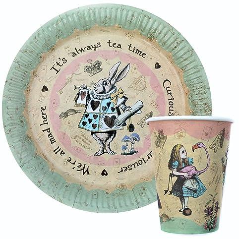 Amazon.com: Vintage Alice in Wonderland Party / Mad Hatter\'s Tea ...