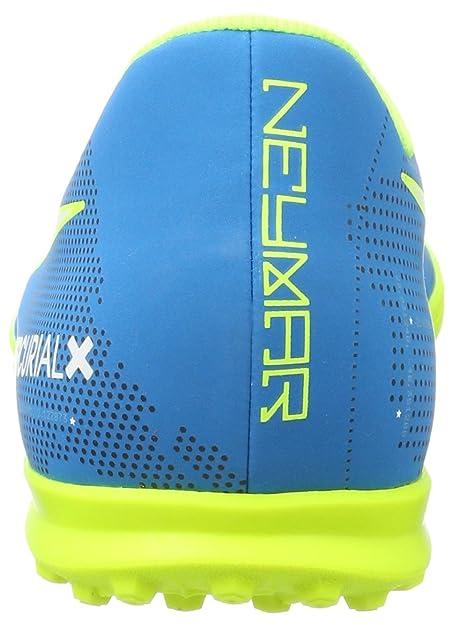 Nike Mercurial X Vortex III Neymar TF 921519, Zapatillas de Fútbol para Hombre, Turquesa White/Blue Orbit/Armory Navy Volt, 41 EU: Amazon.es: Zapatos y ...