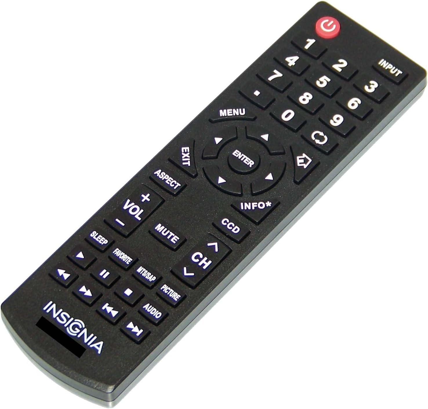 NS32D200NA14 NS-65D550NA15 OEM Insignia Remote Control Originally Shipped With: NS32D512NA15 NS-32D200NA14 NS65D550NA15 NS-32D512NA15