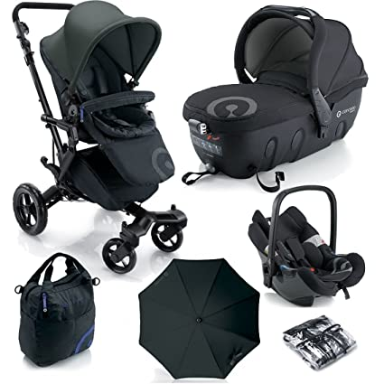 Cochecito Concord Neo Trio Travel-Set Black