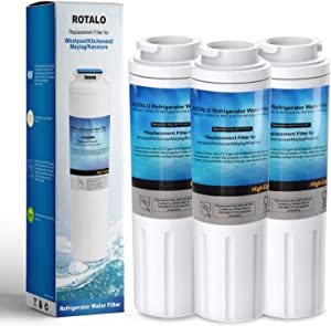 UKF8001 Refrigerator Water Filter UKF8001, ROTALO NSF 42&372 Certified Replacement for Maytag UKF8001 Refrigerator Water Filter, Pack of 3