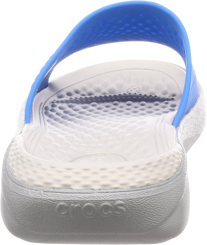 Crocs Literide Slide Chaussures de Plage /& Piscine Mixte Adulte