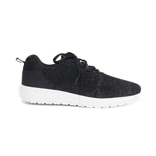Parfois - Zapatillas Running - Mujeres - Tallas 41 - Negro: Amazon.es: Zapatos y complementos