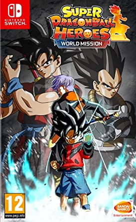 Resultado de imagen de portada Super Dragon Ball: Heroes World Nintendo Switch