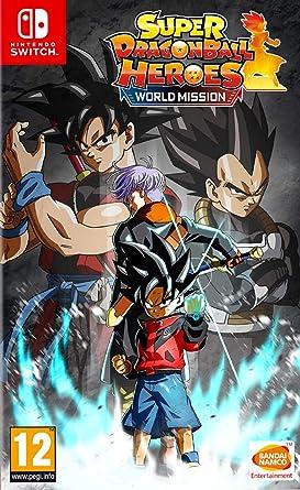 Super Dragon Ball Heroes World Mission - Hero Edition: Amazon.es ...