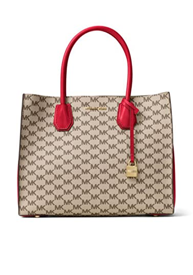 9d091f7d9ba2 Image Unavailable. Image not available for. Color: MICHAEL Michael Kors  Signature Mercer Large Convertible Tote