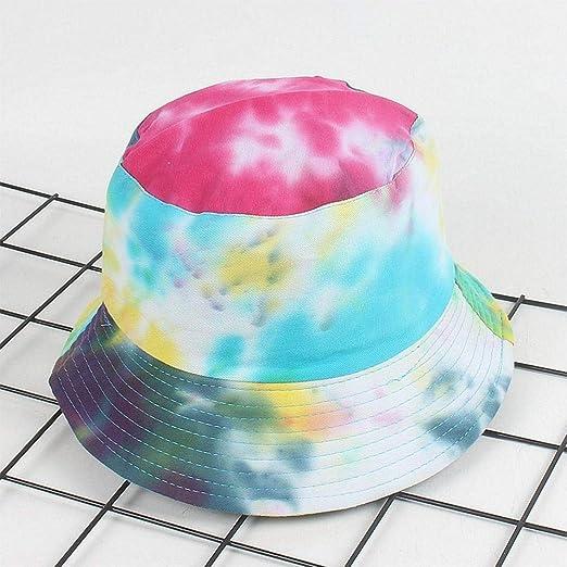 Y-XM Cangilón Sombreros con Vistoso Pintada Unisexo Plegable ...