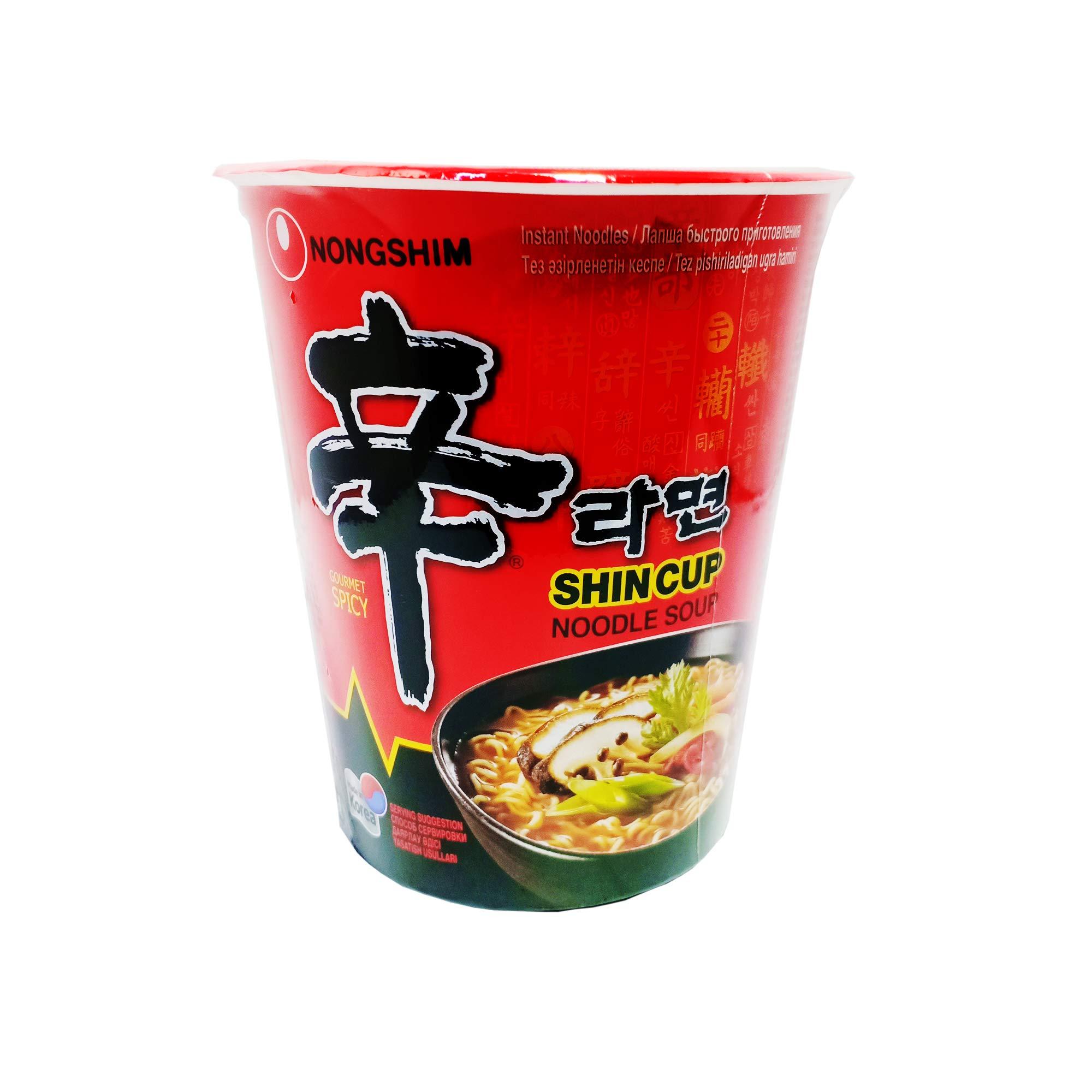 Nong Shim Shin Cup Noodle Soup (68 g)