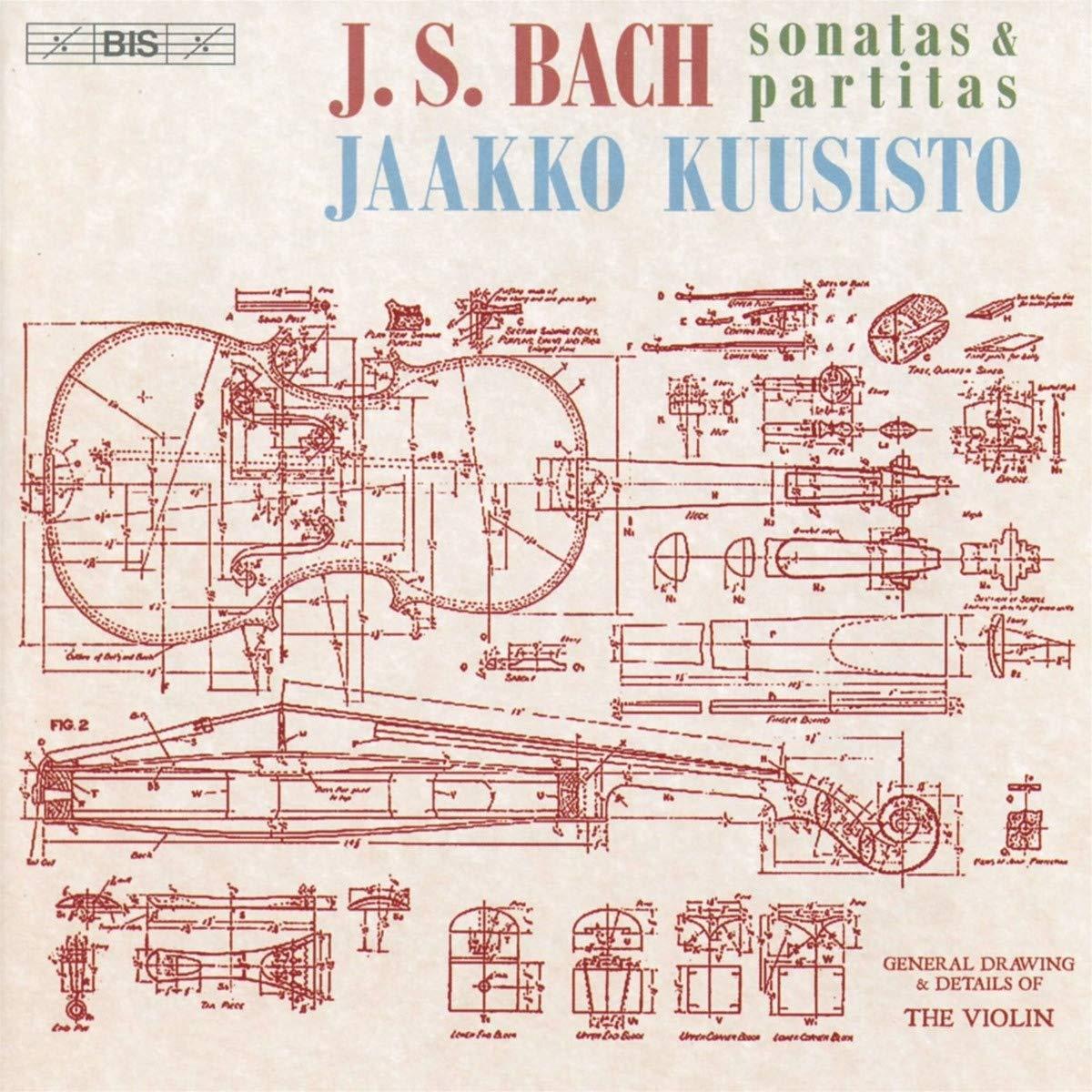 SACD : JAAKKO KUUSISTO - Sonatas & Partitas (Hybrid SACD, 2 Pack)