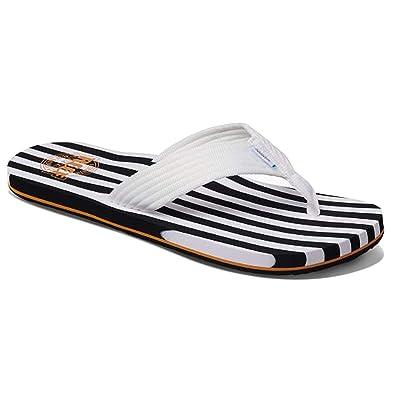 REEF Men's Original Stripes Sandal: Shoes