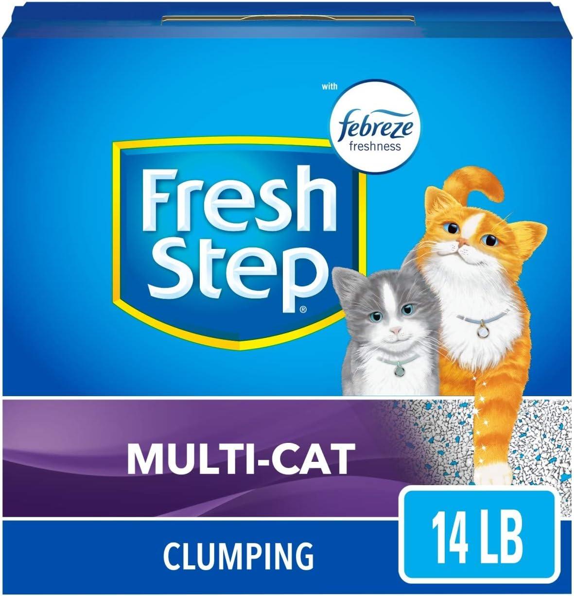 Análisis de la arena para gatos de Fresh Step 5