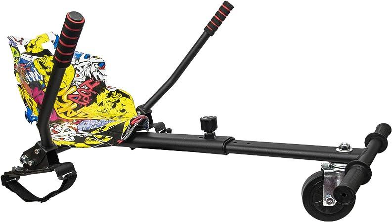 Graffiti Yellow Hoverkart HoverCart Racer Hover Kart GoKart For Board