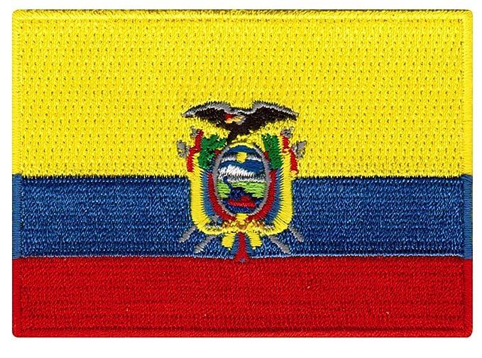 Amazon Ecuador Flag Embroidered Patch Ecuadorian Iron On
