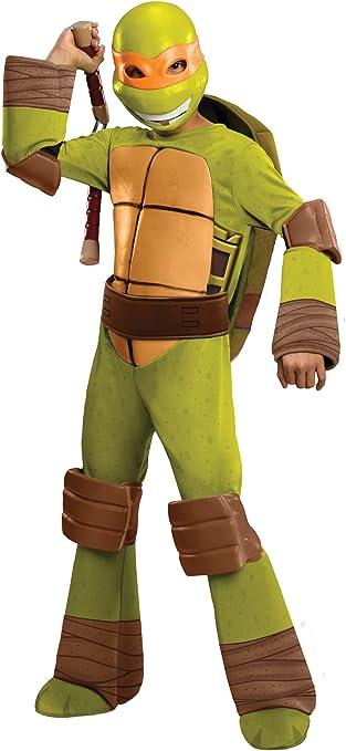 Amazon.com: Disfraz de Michelangelo de Las tortugas ninja, M ...