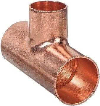 Reducing Tee Wrot Copper C X C X C Pipe Fittings Amazon Com
