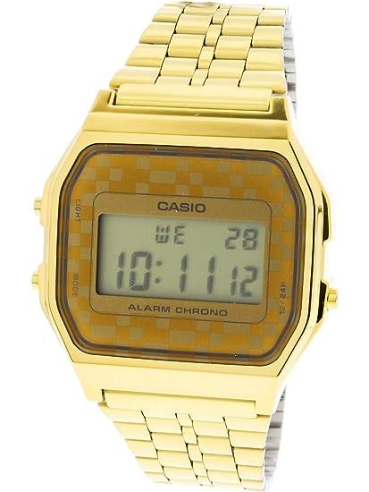 1c653c0e0aa6 CASIO Reloj de Cuarzo Vintage A159WG-9  Casio  Amazon.es  Relojes