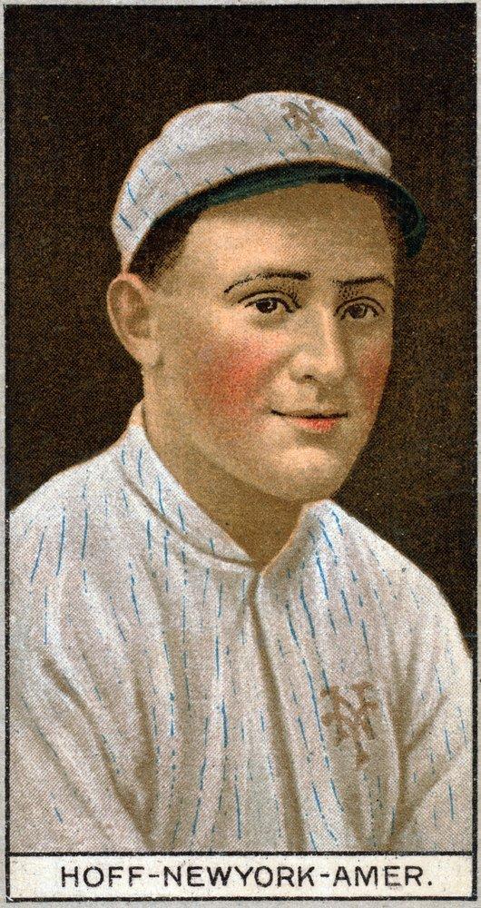 New York Highlanders – Chester Hoff – 野球カード( 16 x 24 Gicleeギャラリー、壁用旅行ポスター)   B017ZERD08