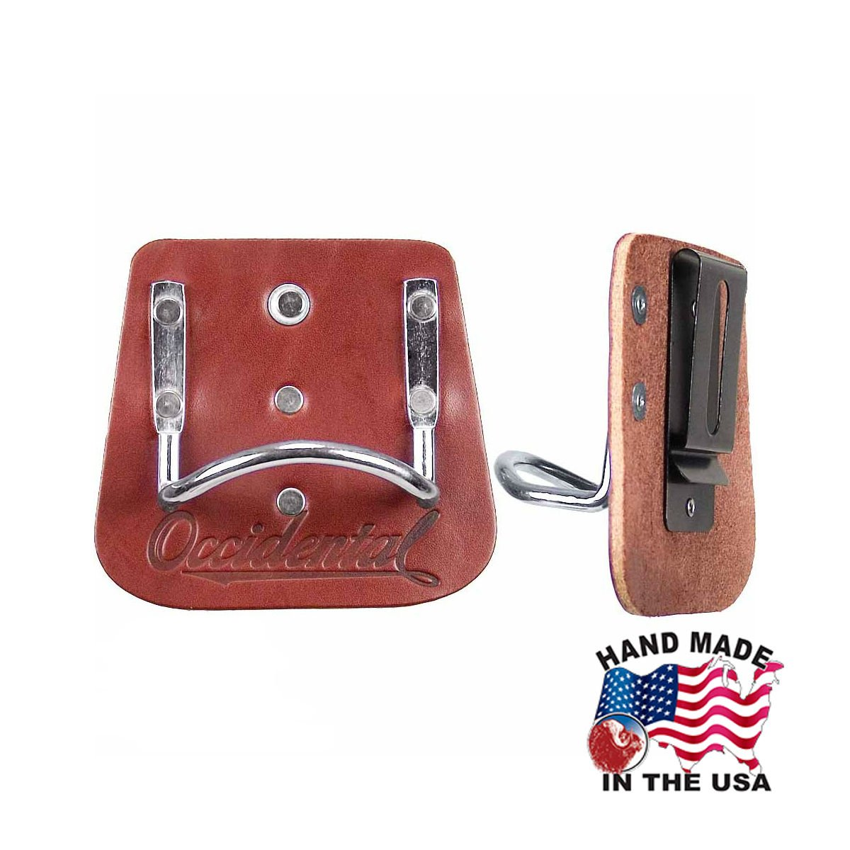 Occidental Leather 5040 Quality Leather Clip With Steel Hammer Holder by Occidental Leather