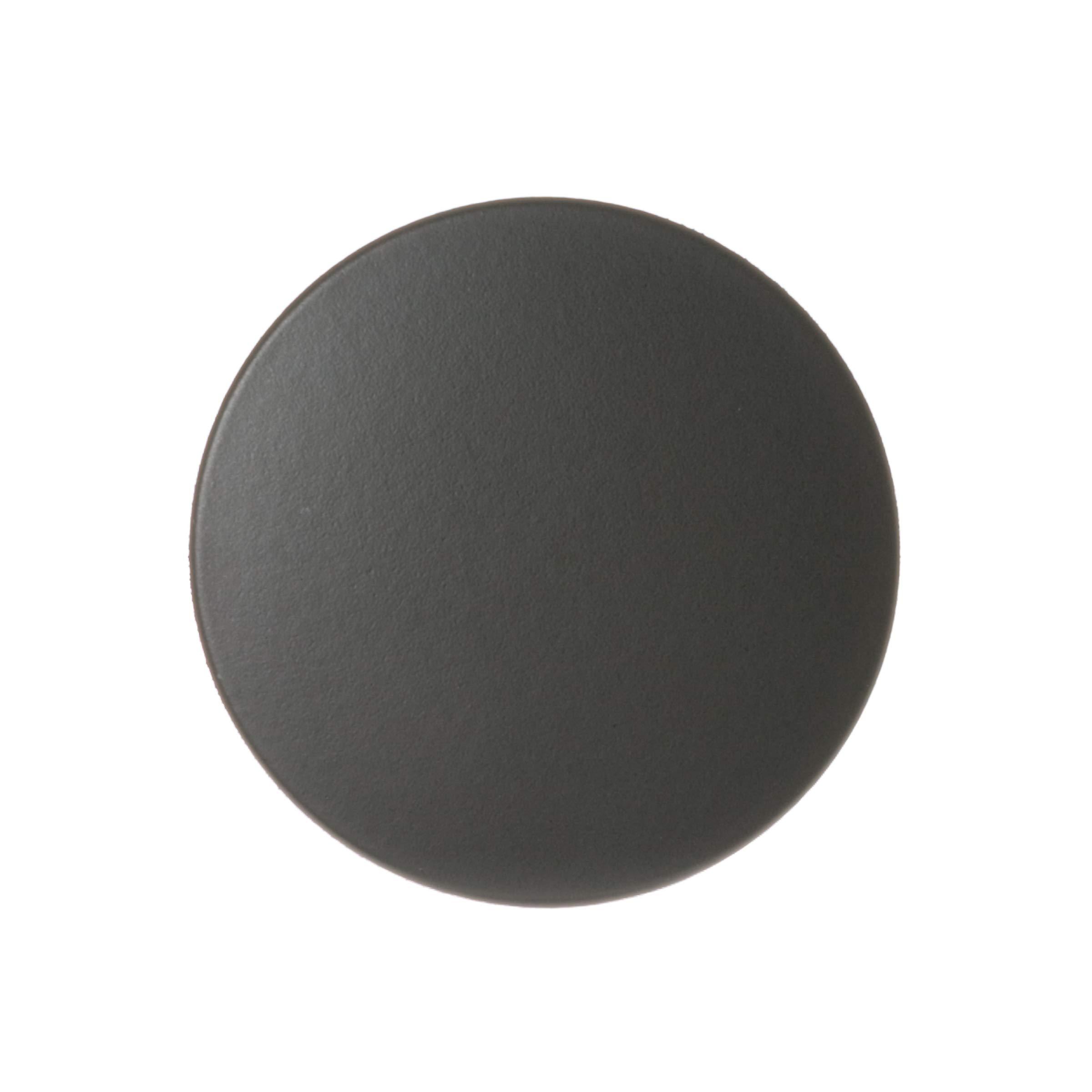 GE WB29K10024 Genuine OEM Cooktop Large Burner Cap (Black) for GE Gas Ranges