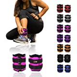Xn8 Sports Ankle Weights Adjustable Strap Resistant 0.5kg 0.75kg 1kg 1.5kg 2kg 2.5 kg 3kg 4kg 5kg Leg Wrist Running Cross Fitness Gym Training Exercise