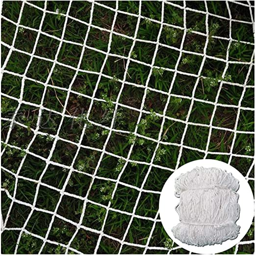 Malla De Jardín para Ventanas/Plantas Portería/Objetivos Netos De Fútbol para Chicos Decoración Neta Red De Pesca Náutica 6mm/5cm Blanco Multi-tamaño (Size : 7x8m): Amazon.es: Jardín