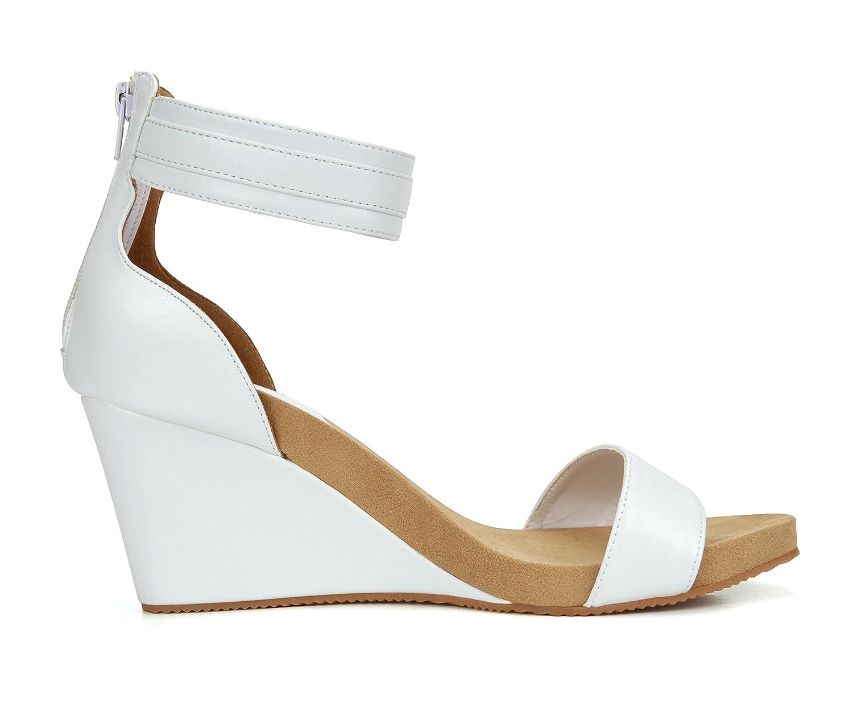 cd40af6812c1 ... TOETOS SOLSOFT New Women s Casual Open Toes Toes Toes Mid Heels  Platform Wedges Summer Sandals B01B9Q5D0A ...