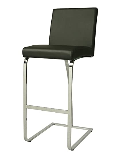 Amazoncom Impacterra Monaco Barstool 26 Counter Height Black