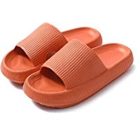 Prekeewil Pillow Slides Slippers for Women and Men Non Slip Quick Drying Massage Bathroom Shower Sandals Open Toe Super…