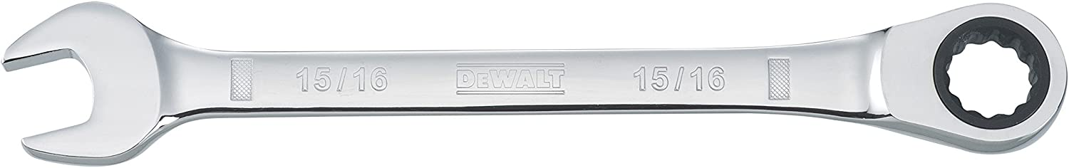DEWALT DWMT75238OSP Ratcheting Comb Wrench 15/16in SAE