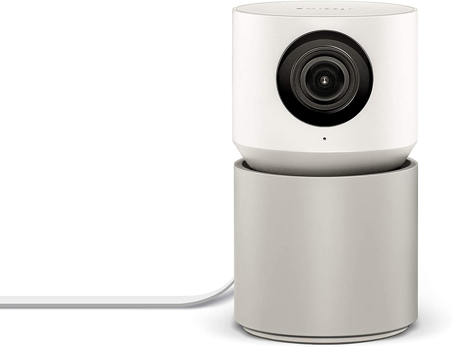 Hoop Home Security Camera, 1080p IP Indoor Wired Video Surveillance System, Sound/Motion Detection | 350° Pan/Tilt, Text to Speech, 2-Way Audio, Reminders, Live View, Smart App | Family & Pet Friendly