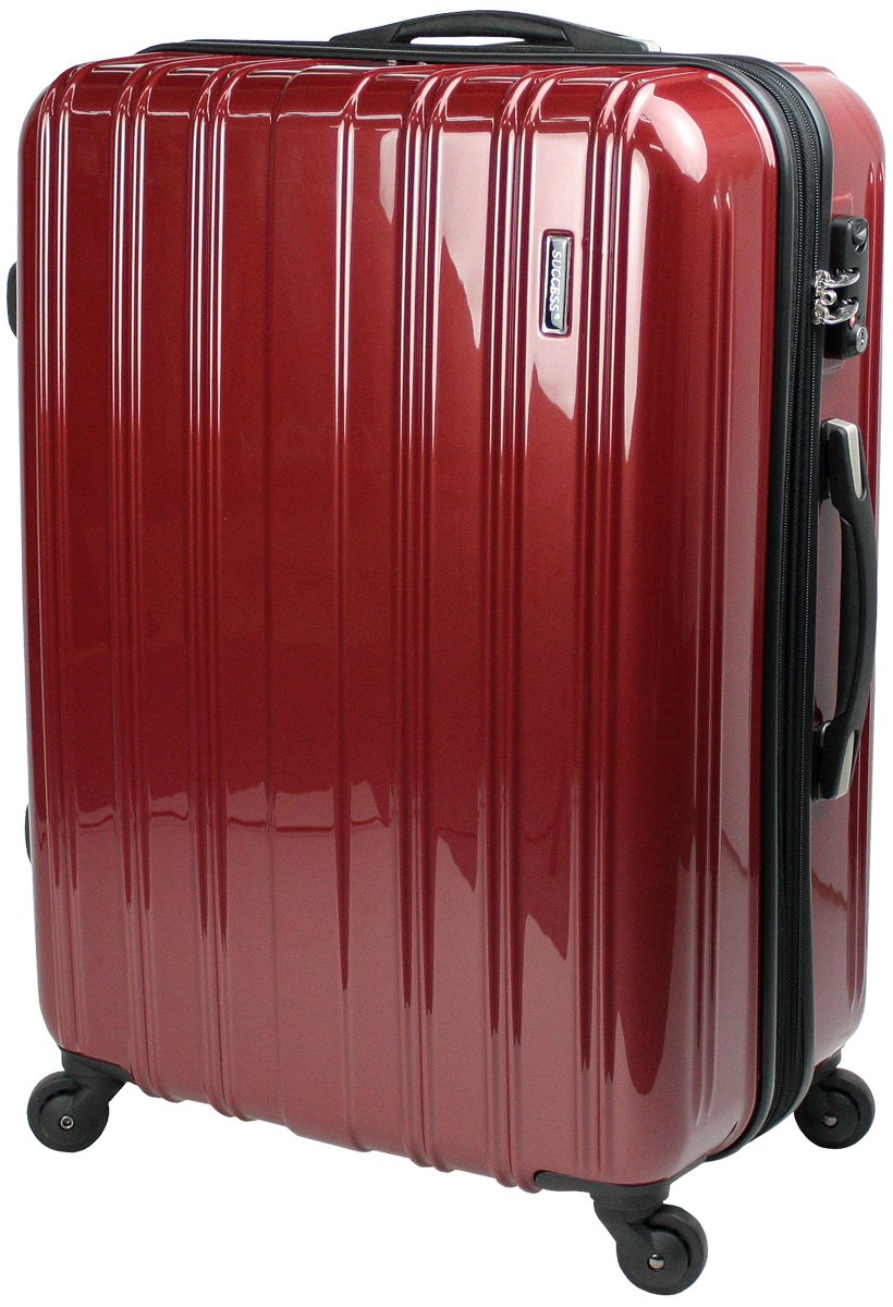 【新品アウトレット商品】 【SUCCESS サクセス】 スーツケース 3サイズ( 大型  ジャスト型  中型 ) TSAロック 搭載 超軽量 レグノライト2020~ ミラー加工 キャリーバッグ … B07BSB7T27 中型 Mサイズ 65cm|ヴェネシアンレッド ヴェネシアンレッド 中型 Mサイズ 65cm