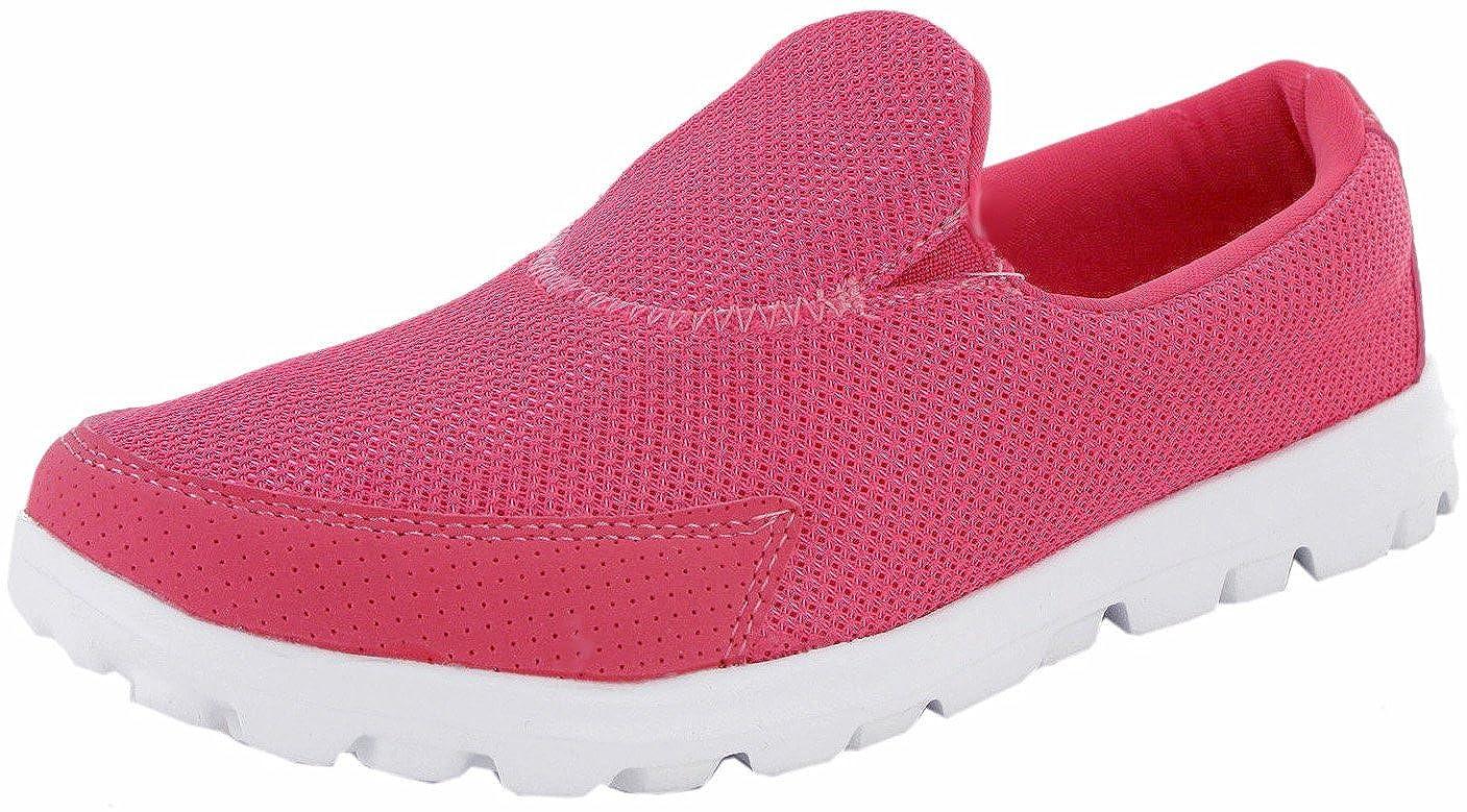Mujer Go Caminar Get Fit Zapatillas Deporte Zapatos atléticos Zapatos de Caminar Deporte Gimnasio Dek