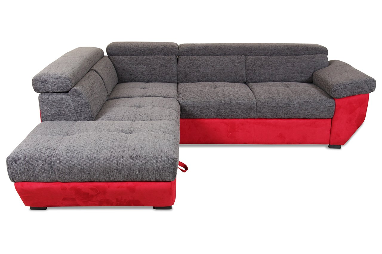 sofa cotta megaecke speedway stoff webstoff rot online bestellen. Black Bedroom Furniture Sets. Home Design Ideas