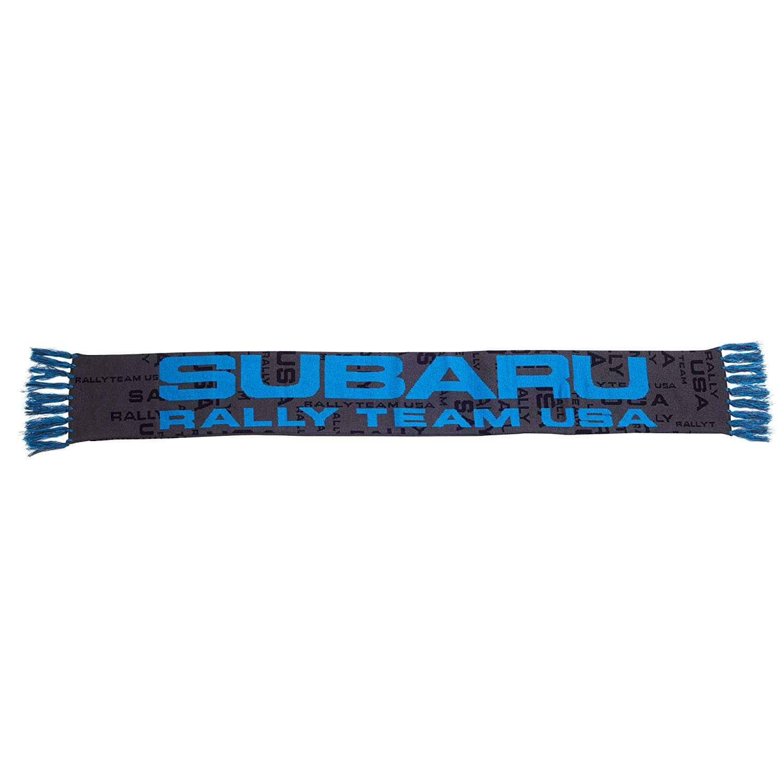 SUBARU Official Rally Team USA Fringe Scarf WRX Sti Racing Impreza Genuine New