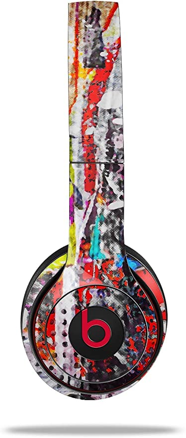 Amazon Com Wraptorskinz Skin Decal Wrap For Beats Solo 2 And Solo 3 Wireless Headphones Abstract Graffiti Beats Not Included Home Audio Theater