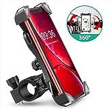 """Cocoda Soporte Movil Bici, 360° Rotación Soporte Movil Moto Bicicleta, Anti Vibración Porta Telefono Motocicleta Montaña para iPhone 11 Pro MAX/XS MAX/XR, Samsung S20/S10 y Otro 4.5-7.0"""" Móvil"""